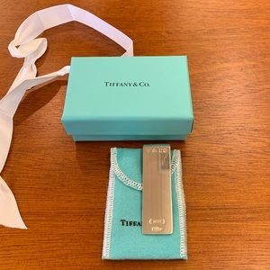 NEW Tiffany & Co. Money Clip